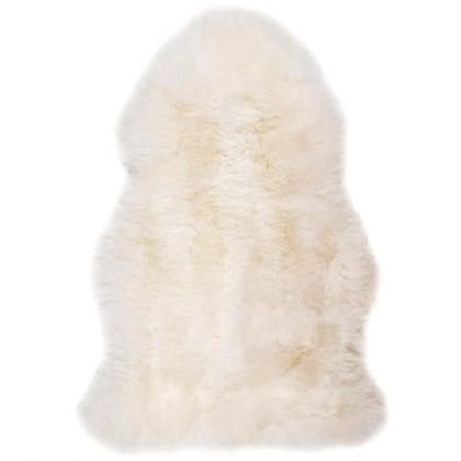 Natural Single Sheepskin with Non-Slip Backing - Main