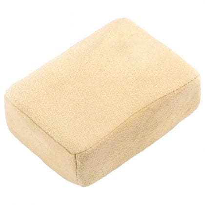 Genuine Chamois Leather Cleaning Pad With Sponge Interior - Main