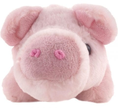 Super Soft Percy The Pig Soft Toy - Front
