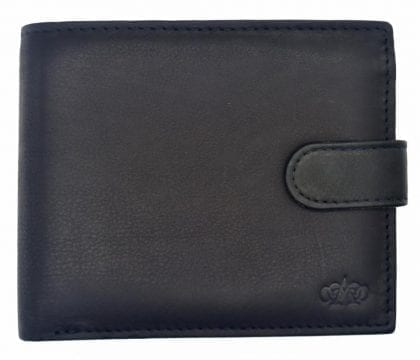 Mens Quality Leather Organiser Flip Out Wallet-0