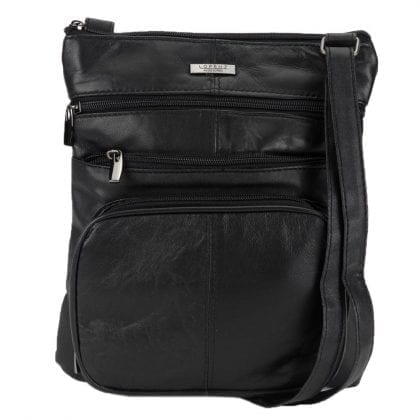Ladies Genuine Leather Bag with Front Pocket