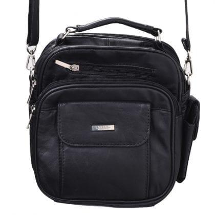 Soft Leather Travel - Work Cross Body - Shoulder Bag