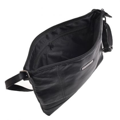 Ladies Soft Genuine Leather Evening Handbag - Open