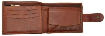 Mens Hand Finished Genuine Leather Organiser Wallet by Rowallan-8967