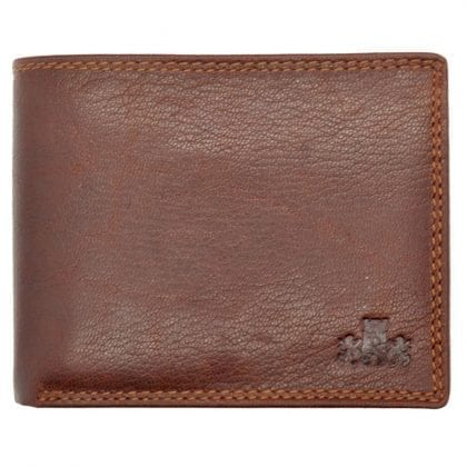 Mens High Quality Genuine Leather Organiser Wallet by Rowallan - Front