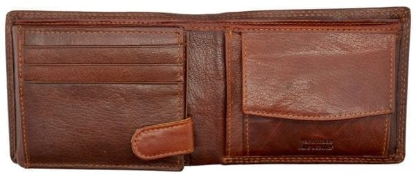 Mens High Quality Genuine Leather Organiser Wallet by Rowallan-8956