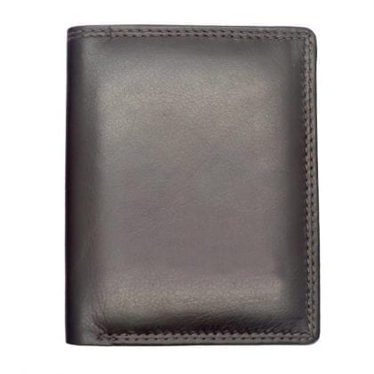 Genuine Leather Smooth Finish Credit Card Wallet