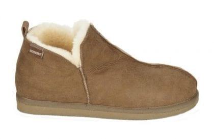 Mens Genuine Sheepskin Slipper Boots by Shepherd of Sweden - Side