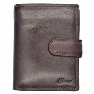 Smooth Leather Flip Out Organiser Wallet-0