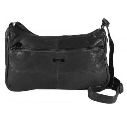 Ladies Genuine Soft Leather Cross Body Bag