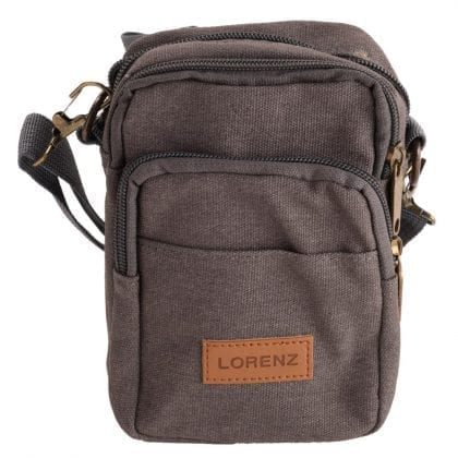 Small Canvas Bag with Detachable Shoulder Strap