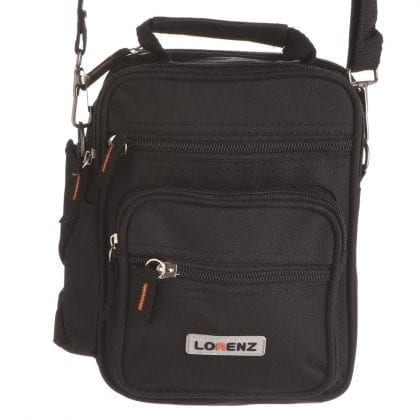 Small Canvas Multi-Purpose Bag with Detachable Strap and Belt Loop