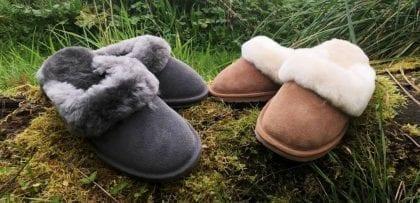 Emu Australia 'Jolie' Ladies Sheepskin Slipper Mules-66074
