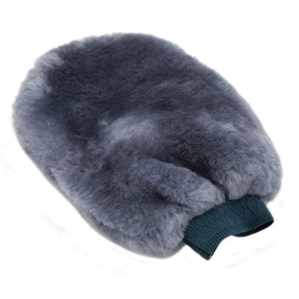 Genuine Sheepskin Car Polishing Mitten