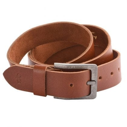 """Arnicus Mens 40mm - 1.5"""" High Quality Leather Vintage Style Belt"""
