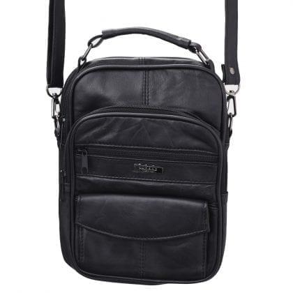 Soft Leather Travel - Work - Cross Body Bag