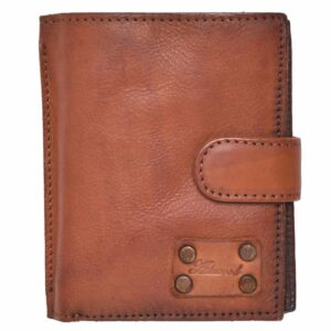 Mens Vintage Style Genuine Leather Organiser Wallet by Ashwood