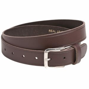 "Arnicus Unisex 35mm - 1.25"" Genuine Leather Plain Belt"