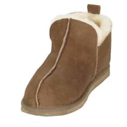 Mens Genuine Sheepskin Slipper Boots by Shepherd of Sweden