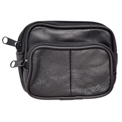 Genuine Soft Nappa Leather Pouch with Belt Loop