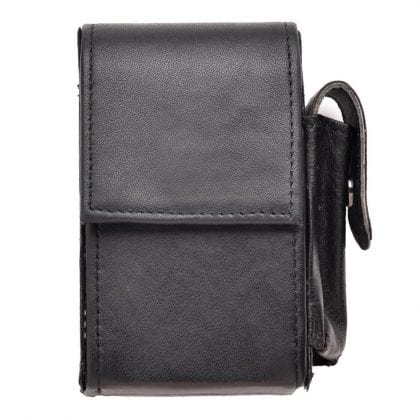 Genuine Leather Cigarette and Lighter Case