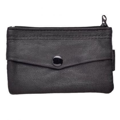 Soft Leather Key Card Coin Pouch-0