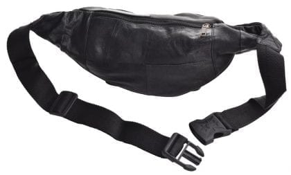 Arnicus Super Soft Leather Traditional Style Waist Bag - Back