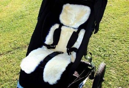 Genuine Sheepskin Stroller Fleece by Bowron - Lifestyle