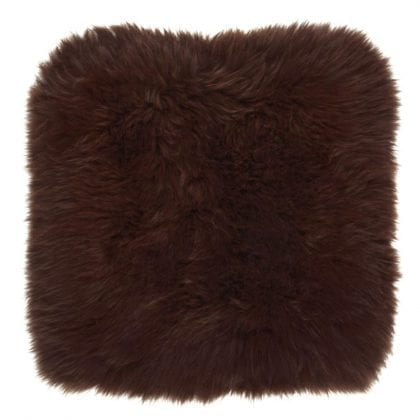One Sided Genuine Sheepskin Cushion - Pillow Cover by Bowron-0