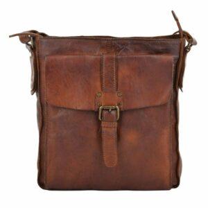Genuine Vintage Leather Cross Body Bag-0
