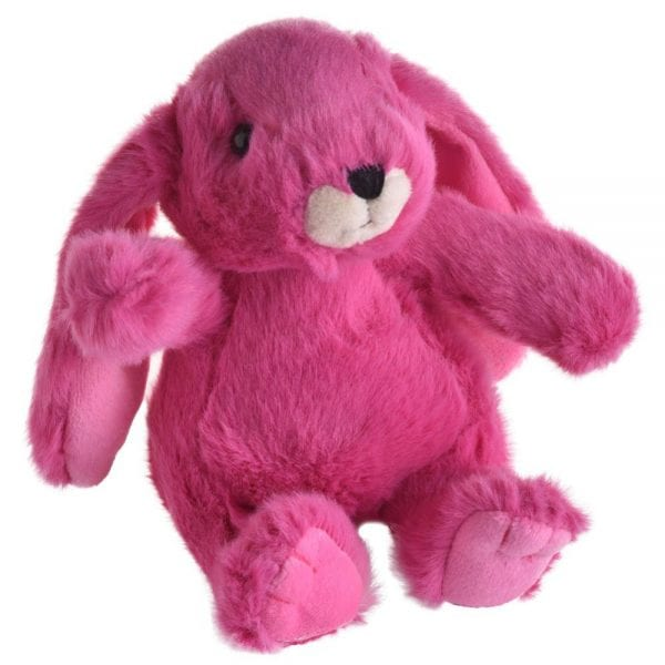 Jomanda Super Soft Small Soft Toy Bunny - Suitable From Birth in Fuschia-0