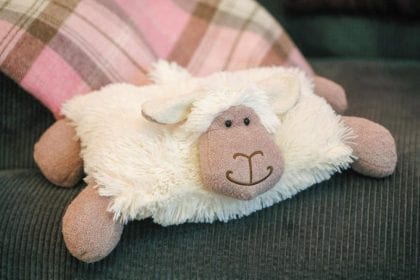 Jomanda Super Soft Sheep Toy Cushion - Pillow Lifestyle