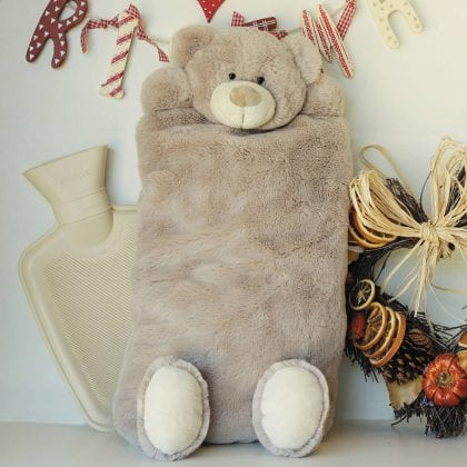 Jomanda Teddy Bear Pyjama Case & Hot Water Bottle Cover - Lifestyle