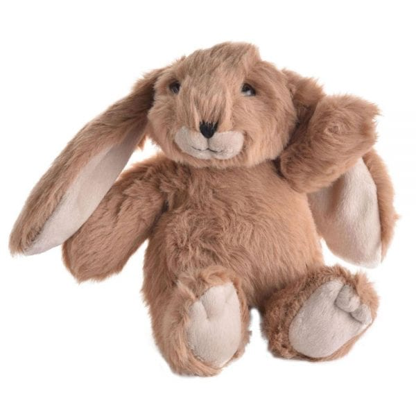Jomanda Super Soft Small Soft Toy Bunny - Suitable From Birth in Brown-0