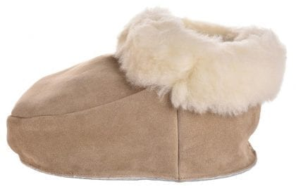 Full British Shearling Double Footmuff - Side