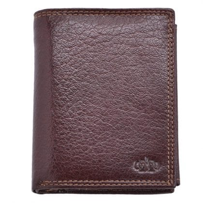 Arnicus Mens High Quality Genuine Grained Leather Organiser Wallet - Main