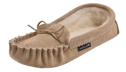 Ladies Luxury Premium Soft Sole Moccasin Slippers-221600