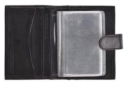 Genuine Leather Plastic Sleeve Card Holder-149419