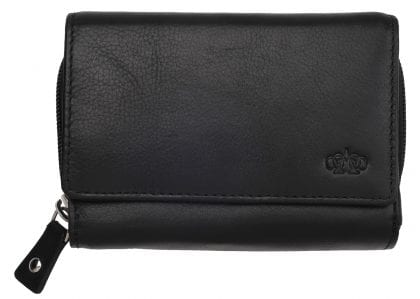 Arnicus Ladies Super Soft Premium Grade Leather Tri Fold Purse
