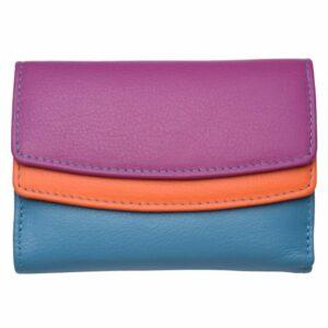 Ladies Super Soft Dual Opening Genuine Leather Purse