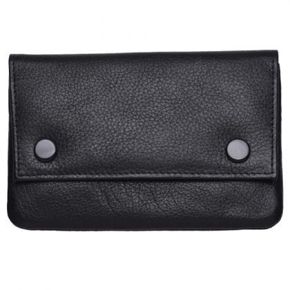 High Quality Soft Leather Fully Lined Tobacco Pouch