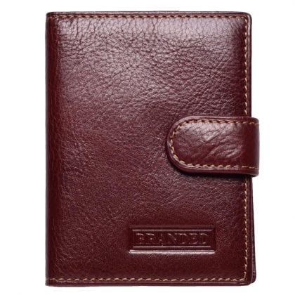 High Quality Smooth Genuine Leather Card Holder