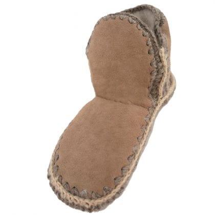 Ladies Genuine Merino Sheepskin Slipper Socks by Shepherd of Sweden-0
