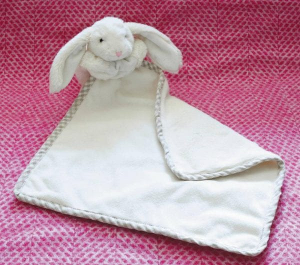 Jomanda Super Soft Toy Soother Blanket - Cream Bunny-88126