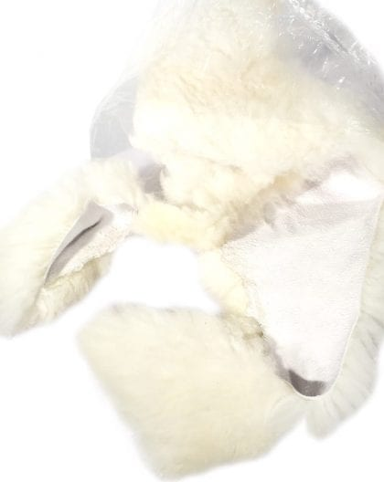100% Natural Coloured Sheepskin Offcuts - Inside