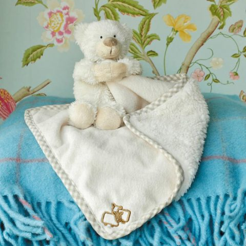 Jomanda Super Soft Toy Soother Blanket - Bear - lIFESTYLE