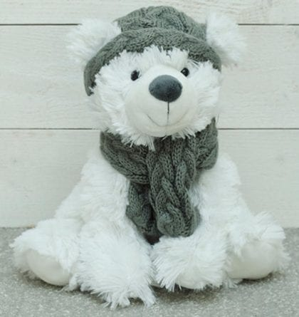 Jomanda Super Soft Winter Polar Bear Soft Toy - Lifestyle