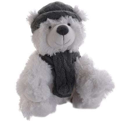 Jomanda Super Soft Winter Polar Bear Soft Toy