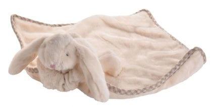 Jomanda Super Soft Toy Soother Blanket - Cream Bunny 2