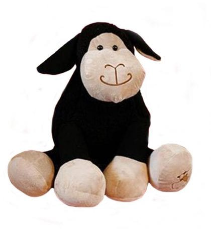 Jomanda Super Soft Extra Large Black Sheep Soft Toy-0